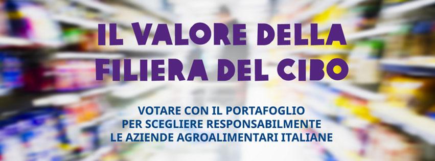 Il valore della filiera del cibo, votare col portafoglio per scegliere responsabilmente le aziende agroalimentari italiane