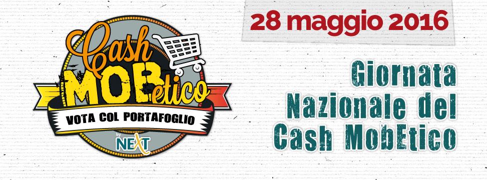 Il logo della Giornata Nazionale del Cash Mob Etico
