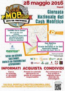 Locandina Giornata Nazionale Cash Mob Etico Napoli
