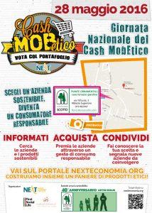 Locandina Giornata Nazionale Cash Mob Etico Savona