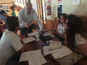 Alberto Frausin di Carlsberg Italia tutor all'Hackathon di Taranto