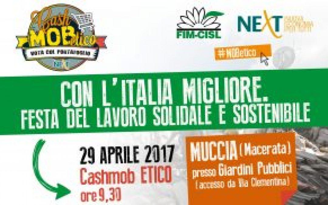 Cash Mob ETico – 1° maggio FIM 2017