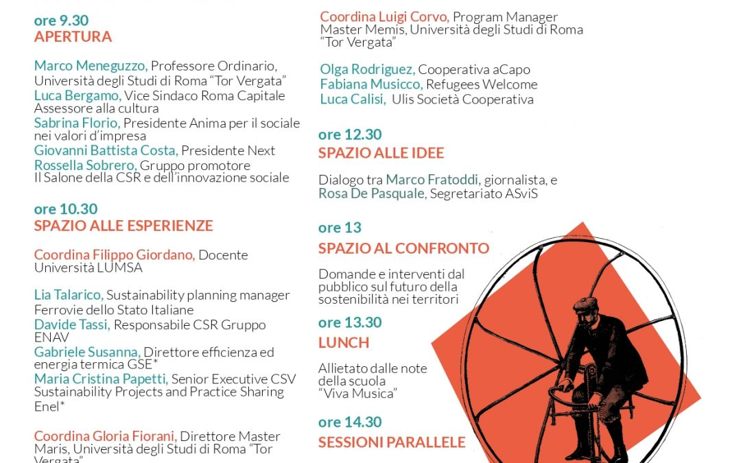 Salone della CSR: tappa di Roma