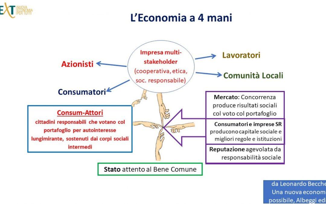 Dalla pandemia all'impegno per una Nuova economia