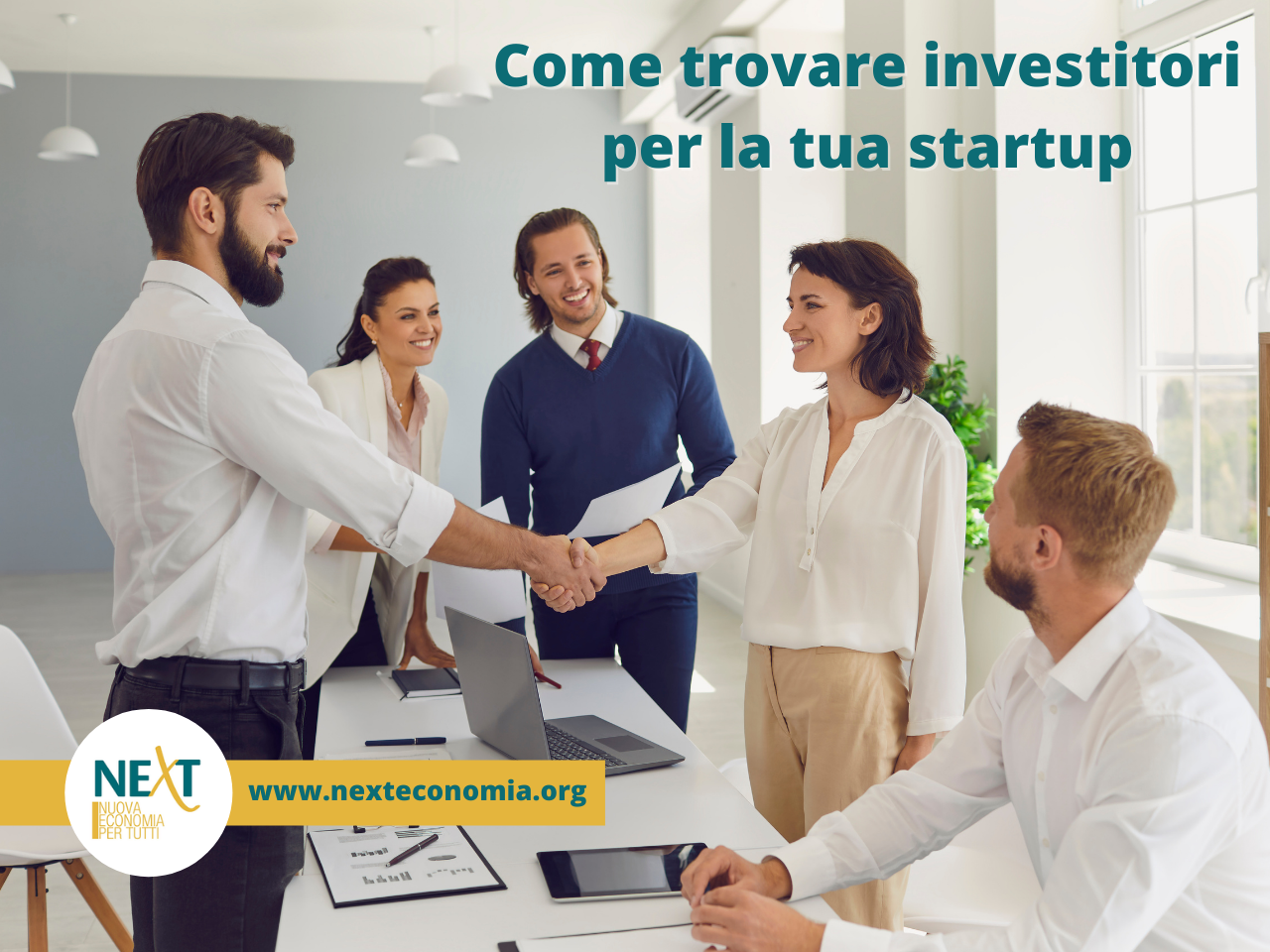 come cercare investitori startup